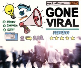 What Causes a Post to Go Viral?
